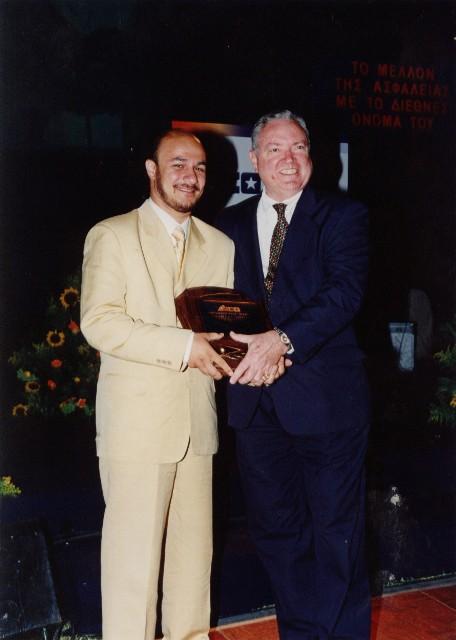 Award from President Mr. Nottigham