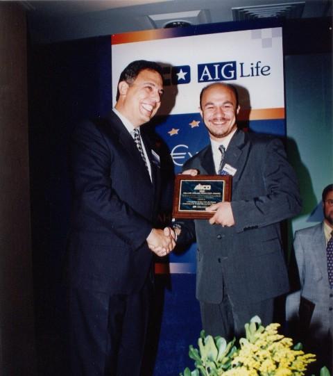 Award from Mr. Michael Chatzidimitriou