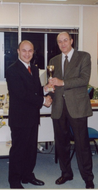 Award from General Manager Alico Greece Mr. Sotirios Tagopoulos