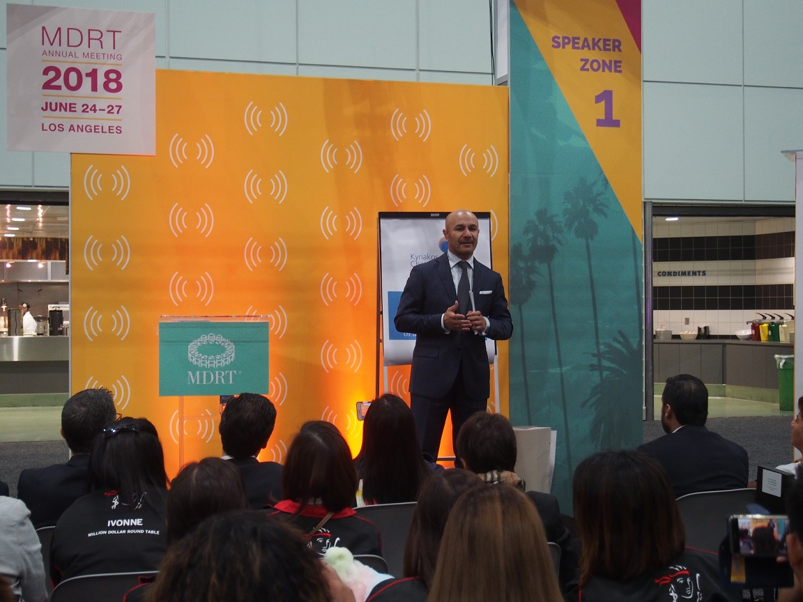 MDRT Annual Meeting Los Angeles 2018 - Connexion Zone Speech
